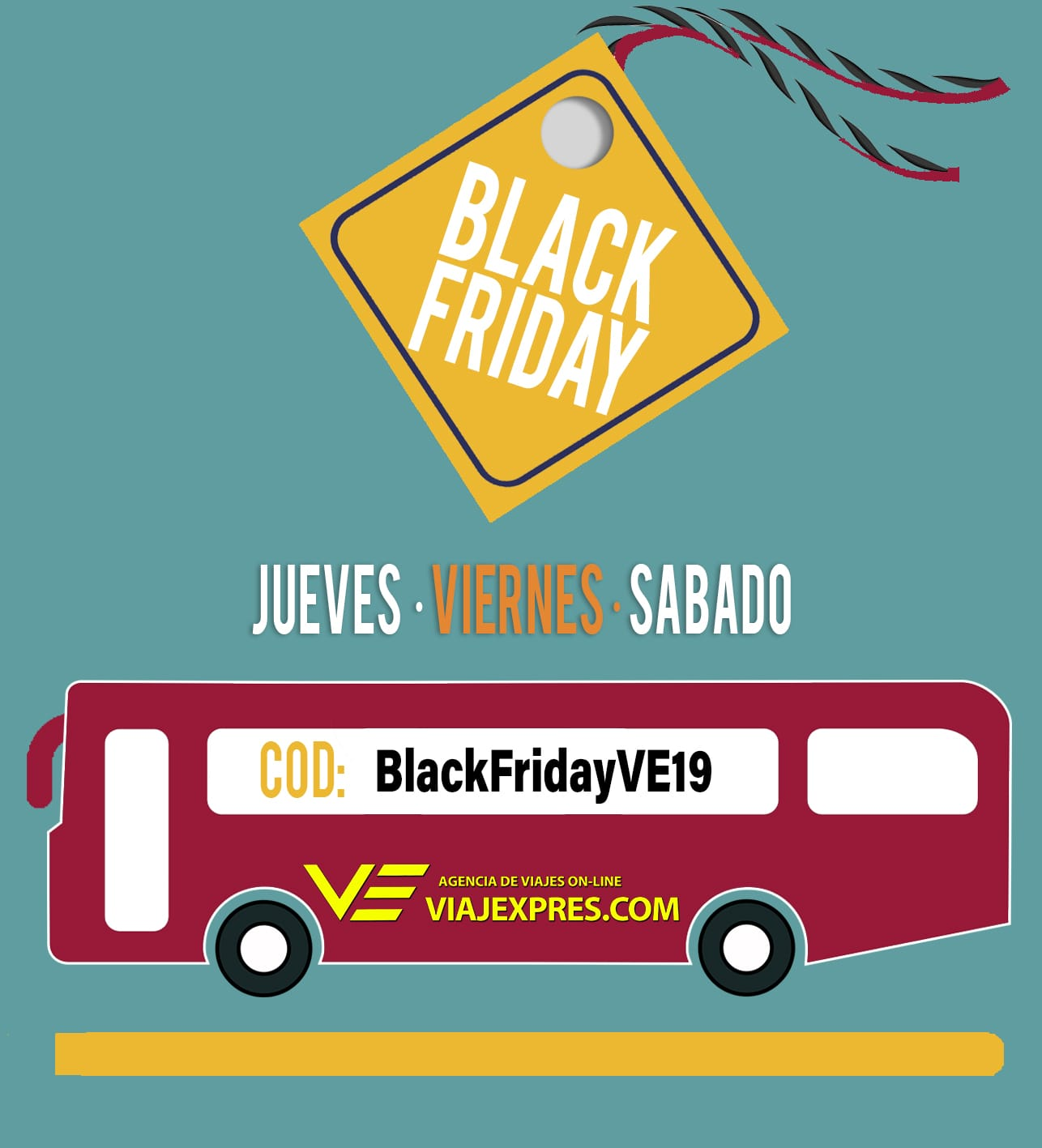 ¡¡¡Black Friday en Viajexpres.com!!!